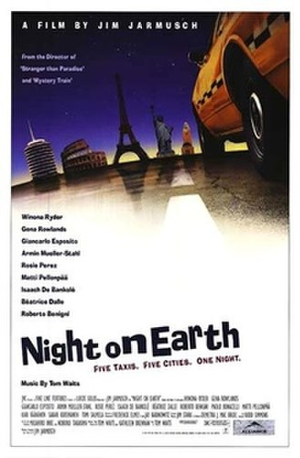 Night on Earth - Theatrical release poster