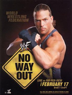 No Way Out (2002) - Promotional poster featuring Rob Van Dam