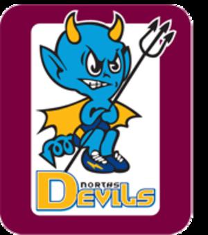 Norths Devils - Image: Norths Devils LOGO