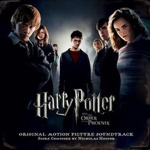 Harry Potter and the Order of the Phoenix (soundtrack) - Image: Ootp cover