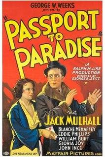 <i>Passport to Paradise</i> 1932 film