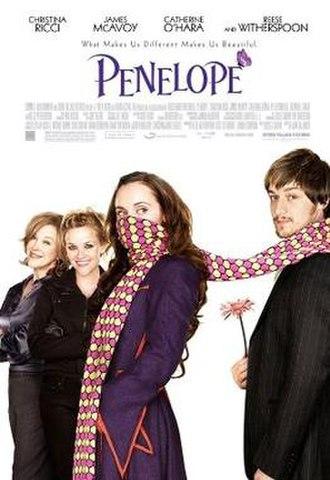 Penelope (2006 film) - Image: Penelope Poster 2