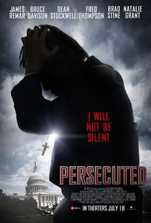 Persecuted (film) - Theatrical release poster