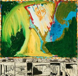 Pierre Alechinsky - Le Bruit de la Chute, 1974–75