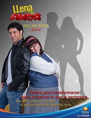 Llena de amor - Image: Poster llena de amor 500x 645