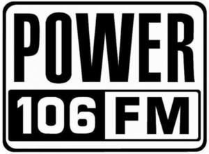 KPWR - Image: Power 106 logo 2013 present