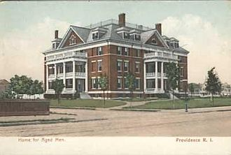 Fred E. Field - Providence Home for Aged Men, Providence, RI. 1891–95.
