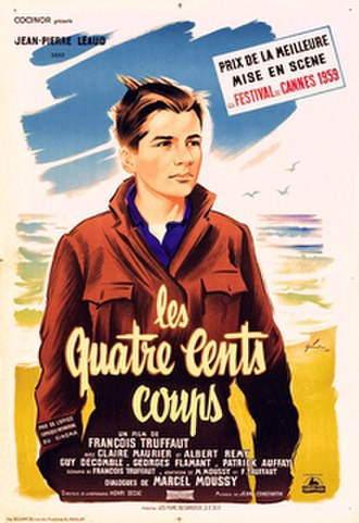 The 400 Blows - Theatrical release poster