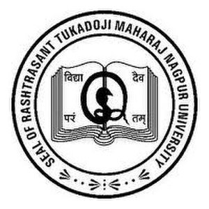 Rashtrasant Tukadoji Maharaj Nagpur University - Image: Rashtrasant Tukadoji Maharaj Nagpur University logo