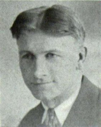 Ray Hanson - Hanson pictured in Sequel 1931, Western Illinois yearbook