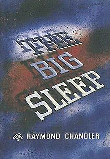 <i>The Big Sleep</i> 1939 novel by Raymond Chandler