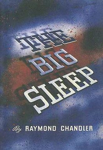 The Big Sleep - First-edition cover