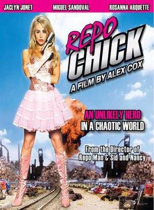 Repo Chick - DVD cover