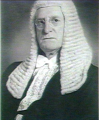 Speaker of the New South Wales Legislative Assembly - Reginald Weaver (1937–1941) as Speaker, wearing the full traditional dress.