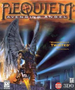 Requiem box art, North American release