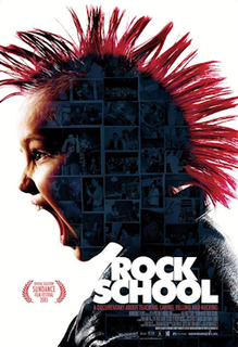 <i>Rock School</i> (film) 2005 American film directed by Don Argott