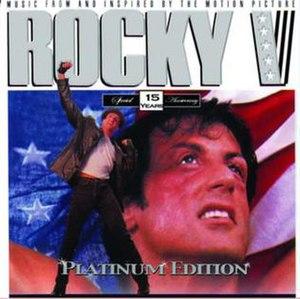 Rocky V (album) - Image: Rocky V soundtrack album artwork