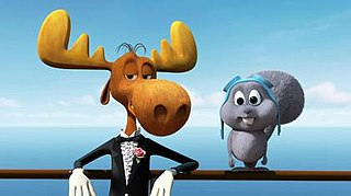 <i>Rocky & Bullwinkle</i> (2014 film) 2014 animated short film directed by Gary Trousdale