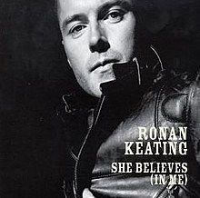 Ronan Keating — She Believes (In Me) (studio acapella)