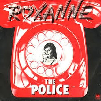 Roxanne (song) - Image: Roxanne The Police (Original UK Release)