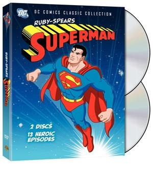 Superman (TV series) - Superman Ruby-Spears DVD cover