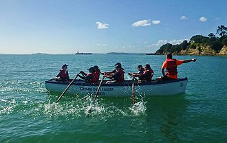 New Zealand Sea Cadet Corps - Pulling configuration