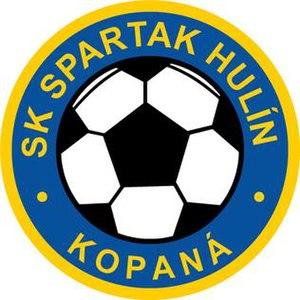 SK Spartak Hulín - Image: SK Spartak Hulín logo