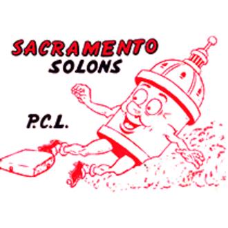 Sacramento Solons - Image: Sacramento Solons logo