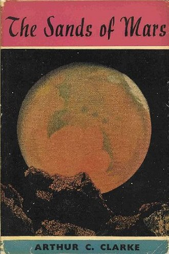 The Sands of Mars - Dust-jacket from the first edition