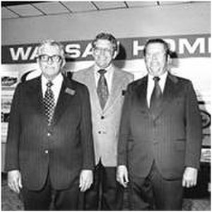 Wausau Homes Inc - Founders of Wausau Homes: Cliff, Marv and Earl Schuette