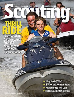 <i>Scouting</i> (magazine) American scout magazine
