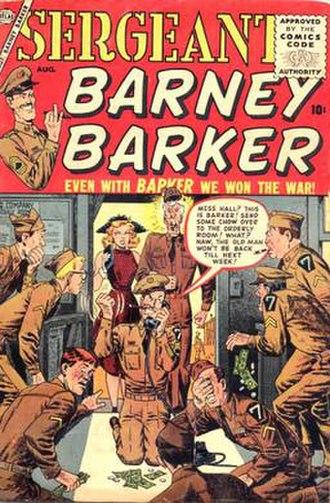 Atlas Comics (1950s) - Image: Sgt Barney Barker 1