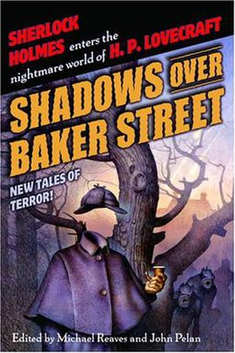 Shadows Over Baker Street - The cover of the first edition