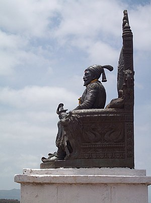 Statue of Chhatrapati Shivaji Maharaj on Raiga...