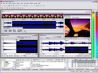 Sound Forge - Image: Sound Forge 8Screenshot