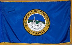 Southington, Connecticut - Image: Southington C Tflag