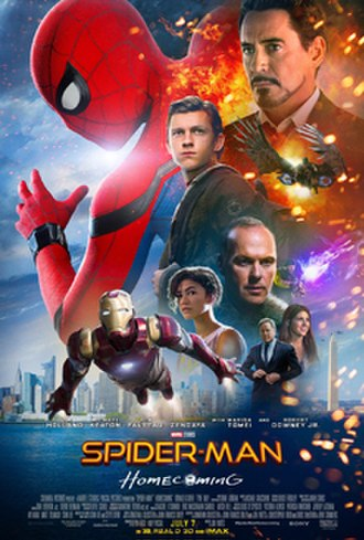 Spider-Man: Homecoming - Theatrical release poster