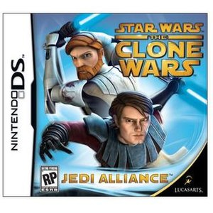 Star Wars: The Clone Wars – Jedi Alliance - Image: Star Wars The Clone Wars Jedi Alliance DS cover