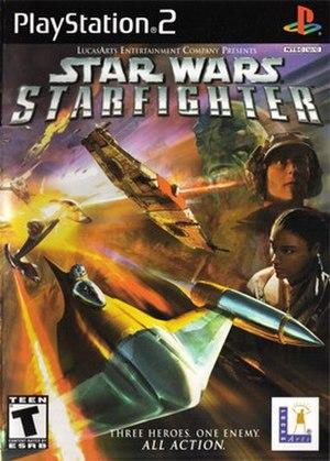 Star Wars: Starfighter - PlayStation 2 cover art