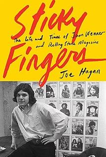 <i>Sticky Fingers</i> (book) 2017 book by Joe Hagan
