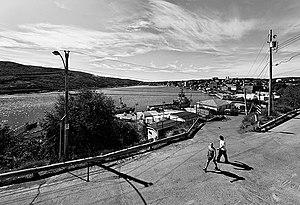 The Battery, St. John's - The Battery, overlooking St. John's Harbour