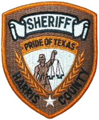 Harris County Sheriff's Office (Texas) - Image: TX Harris County Sheriff