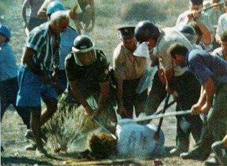 United Nations Buffer Zone in Cyprus - Tassos Isaac being killed