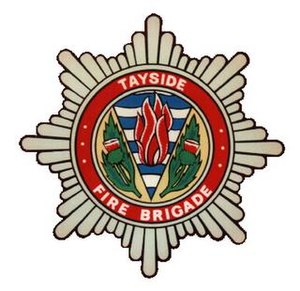 Tayside Fire and Rescue Service - Logo of the Tayside Fire Brigade