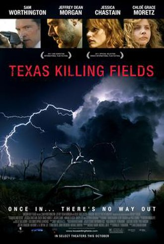 Texas Killing Fields - Theatrical release poster