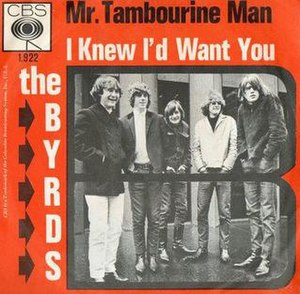 Mr. Tambourine Man - Image: The Byrds Mr Tambourine Man