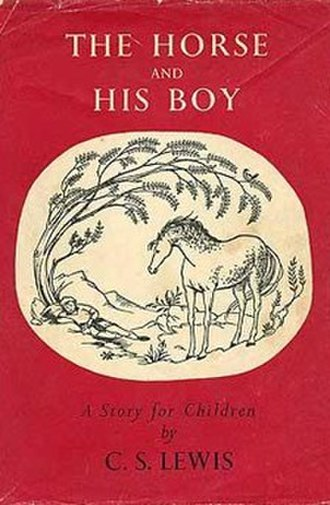 The Horse and His Boy - First edition dustjacket