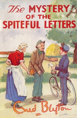 The Mystery of the Spiteful Letters - First edition (publ. Methuen)