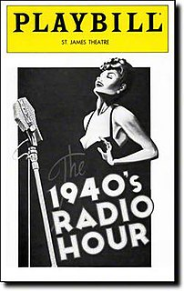 <i>The 1940s Radio Hour</i> play