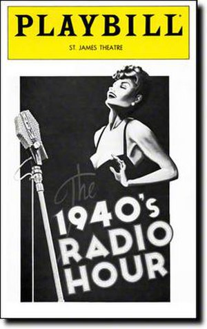 The 1940's Radio Hour - 1979 Broadway Playbill